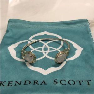 Kendra Scott Cuff Bracelet - Drusy & Gold